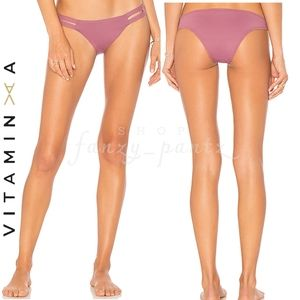 VITAMIN A Neutra Ecolux Bikini Bottom Dusty Rose M
